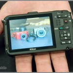 Nikon Coolpix AW100 - rear LCD display