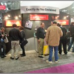 Canon EOS-1D X section of the Canon PhotoPlus Expo booth