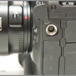 Canon EOS-1D X - accessory socket