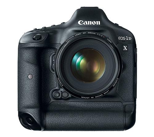 Canon EOS-1D X - front