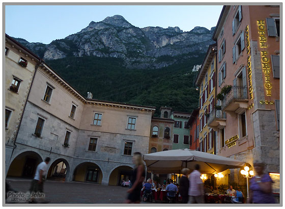 Panasonic Lumix ZS10 - Evening In Riva del Garda, Italy