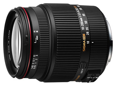 New Sigma 18-200mm F3.5-6.3 II DC OS HSM Zoom Lens
