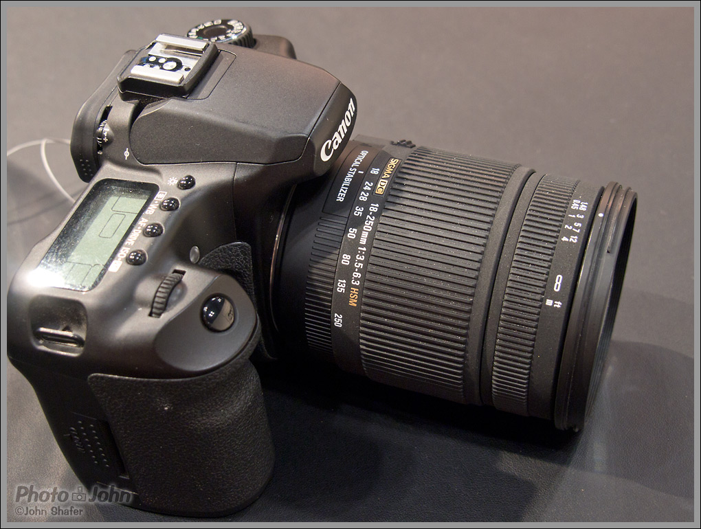 Sigma 18-250mm F3.5-6.3 DC OS HSM All Purpose Zoom Lens