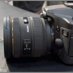 Sigma 24-70mm F2.8 IF EX DG HSM Zoom Lens - Left