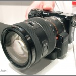 Sony NEX-7 With LA-EA2 Mount Adaptor