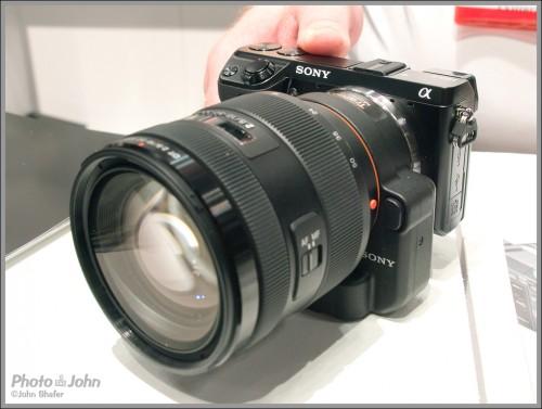 Sony NEX-7 With LA-EA2 Mount Adaptor