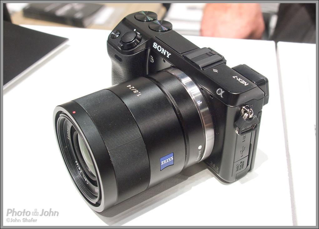 Sony Alpha NEX-7 24-Megapixel Mirrorless Camera