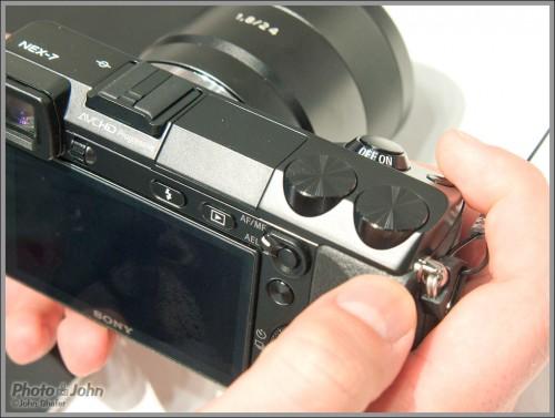 Sony NEX-7 Camera Controls