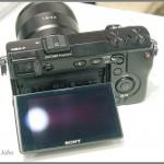 Sony Alpha NEX-7 - 3-inch Tilting Xtra Fine LCD Display