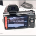 Sony NEX-5N - Rear With Optional EVF (Electronic Viewfinder)