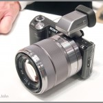 Sony NEX-5N With Kit Lens & Optional Electronic Viewfinder