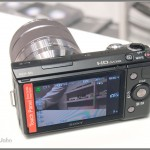 Sony NEX-5N - Rear LCD Display