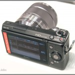 Sony NEX-5N - Top & Rear