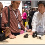 Checking Out The Ricoh GXR Camera At The PhotoPlus Expo