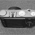 Leica X1 - Top Plate With Shutter Speed Dial, Aperture Control And Shutter Release