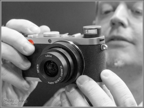 Bob Models The Leica X1