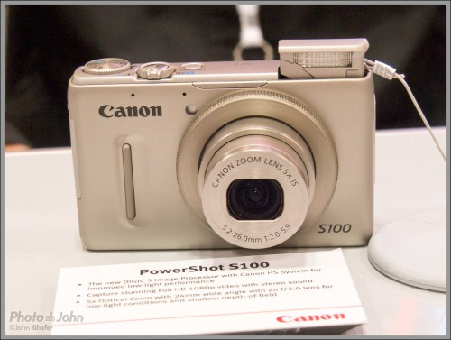 Canon PowerShot S100 Premium Compact Camera