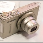 Canon PowerShot S100 - Top & Lens In Silver
