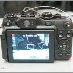Canon PowerShot G12 - Rear