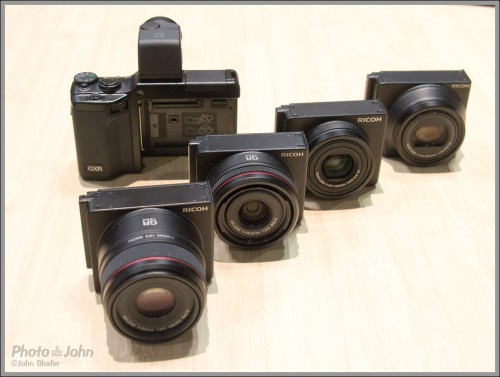 "Ricoh's Unique GXR Modular Digital Camera With ""Lens Mount Units"""