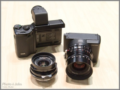 "Ricoh GXR Camera With Leica M-Mount A12 ""Lens Mount Unit"""