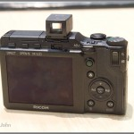Ricoh GXR - Rear LCD & Controls Plus GV2 Mini Optical Viewfinder