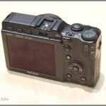 Ricoh GXR Camera - Top And Rear LCD Display