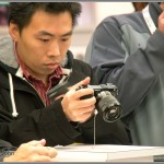 Checking Out The Sony NEX-7 At PhotoPlus Expo