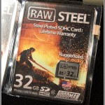 Hoodman Raw Steel SDHC Memory Card - Package