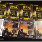 Hoodman Raw & Raw Steel Memory Cards