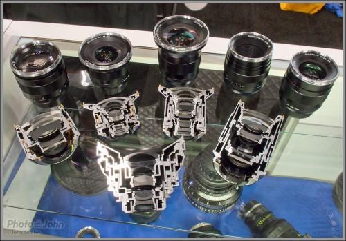 Cutaway Carl Zeiss Lenses