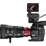 Canon EOS C300 With 14.5-60mm Zoom Lens & Monitor