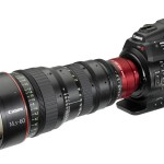 Canon EOS C300 Cinema Camera With 14.5–60mm Zoom Lens