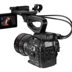 Canon EOS C300 Pro Cinema Camera With Handle & Monitor