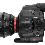 Canon EOS C300 Cinema Camera - Left Side With 85mm Lens