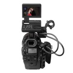 Canon EOS C300 Cinema Camera - Rear With LCD