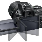 Nikon D5100 - Fuly-Adjustable LCD Display