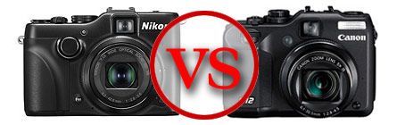Canon PowerShot G12 vs. Nikon Coolpix P7100