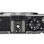Panasonic Lumix GX1 - Top View With Mode Dial & Hot Shoe