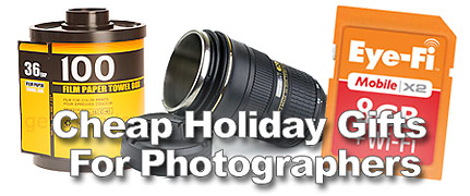 Cheap Last Minute Holiday Gifts For Photographers