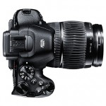 Fujifilm X-S1 26x Superzoom Camera - Top & Lens