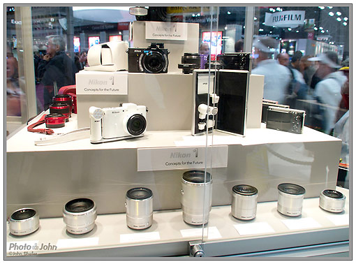 Nikon 1 Camera System Preview Display At PhotoPlus Expo