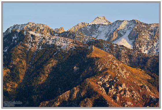 Nikon 1 - Wasatch Mountains Landscape