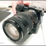 Sony NEX-7 with LA-EA2 Transparent Mirror Adapter And 16-50mm f/2.8 Zoom