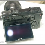 Sony NEX-7 - 3-inch Tilting LCD Display