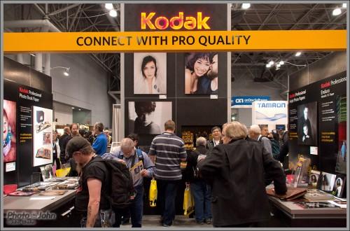 Kodak Booth At 2011 PhotoPlus Expo