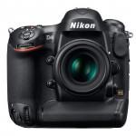 Nikon D4 Flagship DSLR - Front