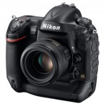 Nikon D4 Digital SLR - Front Right