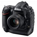 Nikon D4 Digital SLR - Front Right