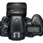 Nikon D4 Digital SLR - Top View